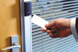Монтаж системы контроля и учета доступа